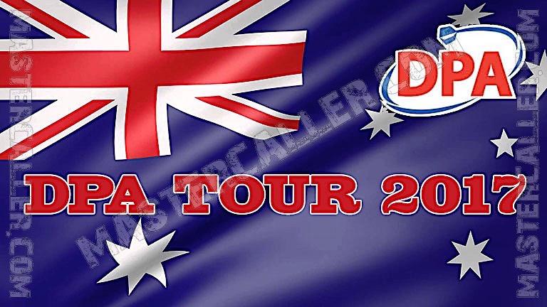 PDC Australian Tour (DPA) - 2017 DPA 16 Perth Logo