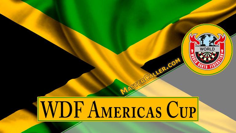 WDF Americas Cup Youth Boys Singles - 2022 Logo