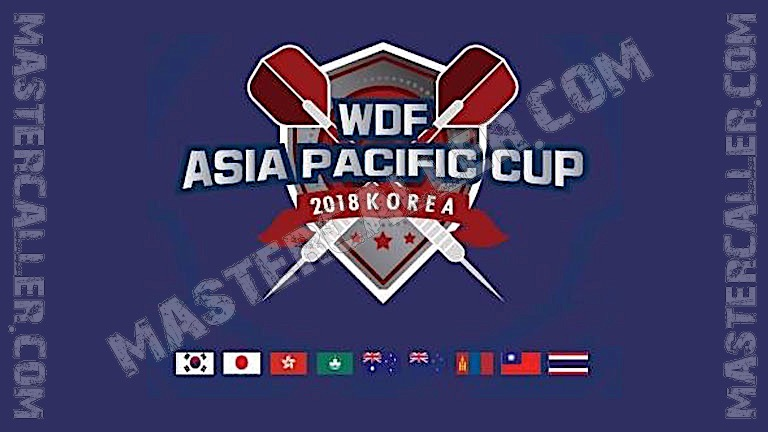 WDF Asia-Pacific Cup Ladies Singles - 2018 Logo