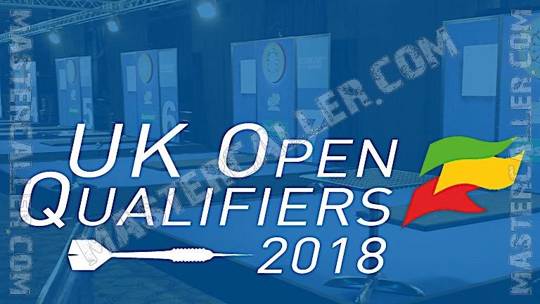 UK Open Qualifiers - 2018 UK QF 4 Wigan Logo