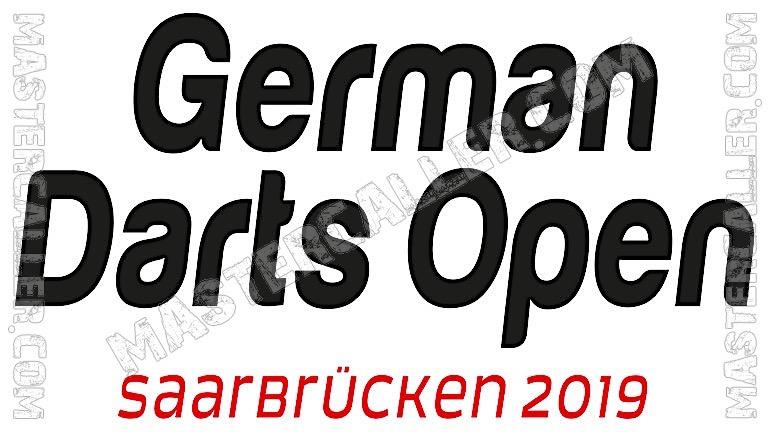 German Darts Open Qualifiers - 2019 N&B Logo
