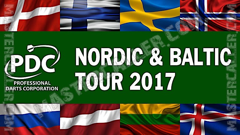 PDC Nordic & Baltic Tour - 2017 NB 06 Oslo Logo