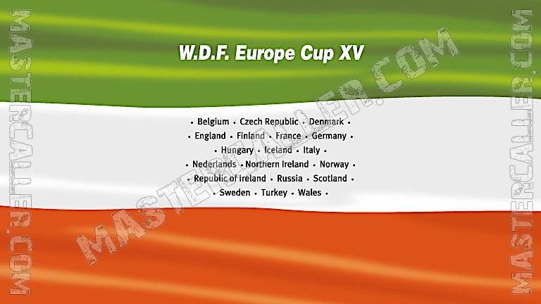 WDF Europe Cup Men Pairs - 2006 Logo