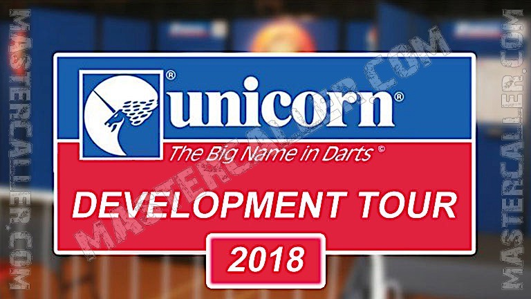 PDC Youth/Development Tour - 2018 DT 18 Wigan Logo