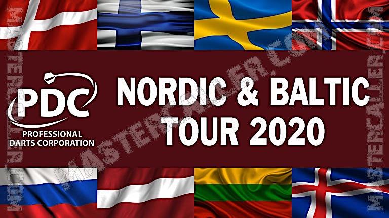 PDC Nordic & Baltic Tour - 2020 NB 01 Vaaksy Logo