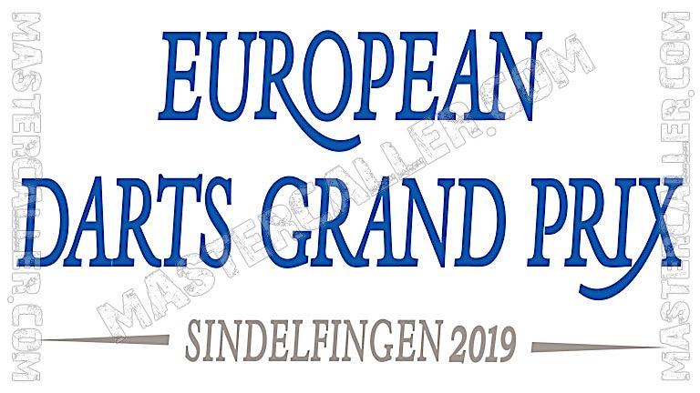 European Darts Grand Prix Qualifiers - 2019 East EU Logo