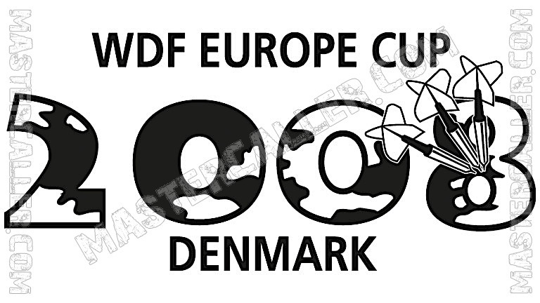 WDF Europe Cup Men Teams - 2008 Logo