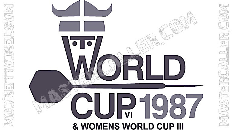 WDF World Cup Men Teams - 1987 Logo