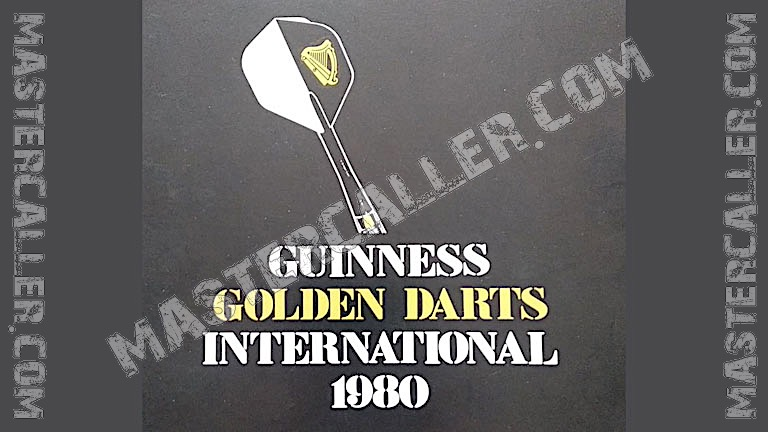 Golden Darts Tournament Singles - 1980 Logo