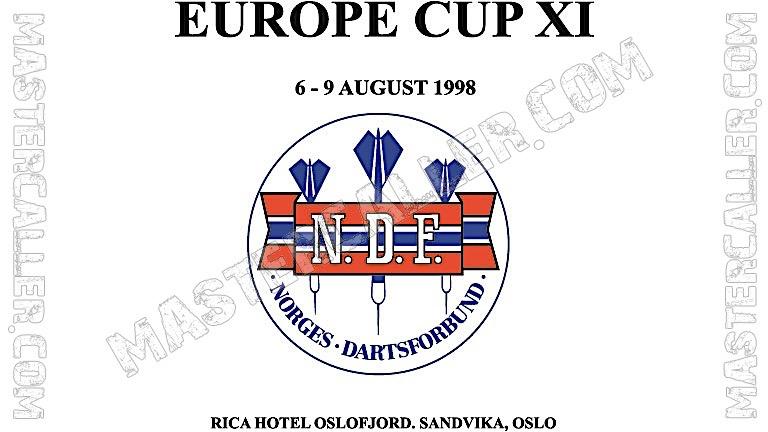 WDF Europe Cup Men Pairs - 1998 Logo