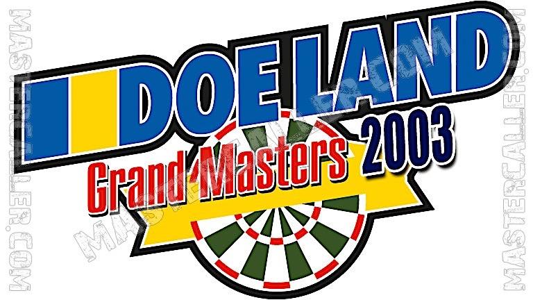 Finder Darts Masters Men - 2003 Logo