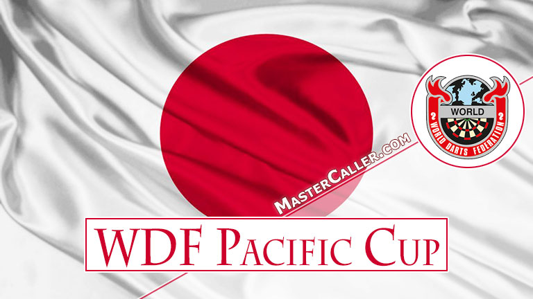 WDF Pacific Cup Women Pairs - 1988 Logo