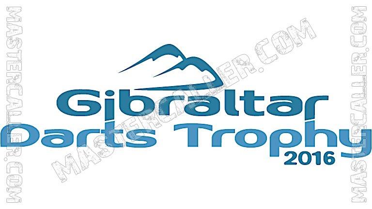 Gibraltar Darts Trophy - 2016 Logo