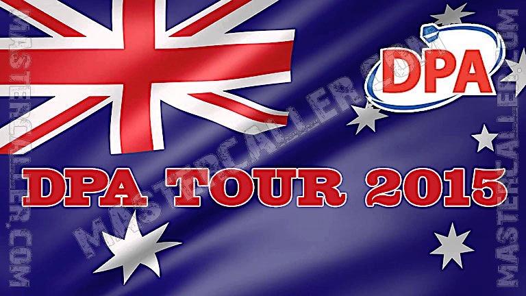 PDC Australian Tour (DPA) - 2015 DPA 07 Australian MP Logo