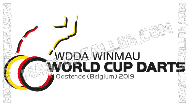 WDF WDDA World Cup Singles Wheelchair - 2019 Logo