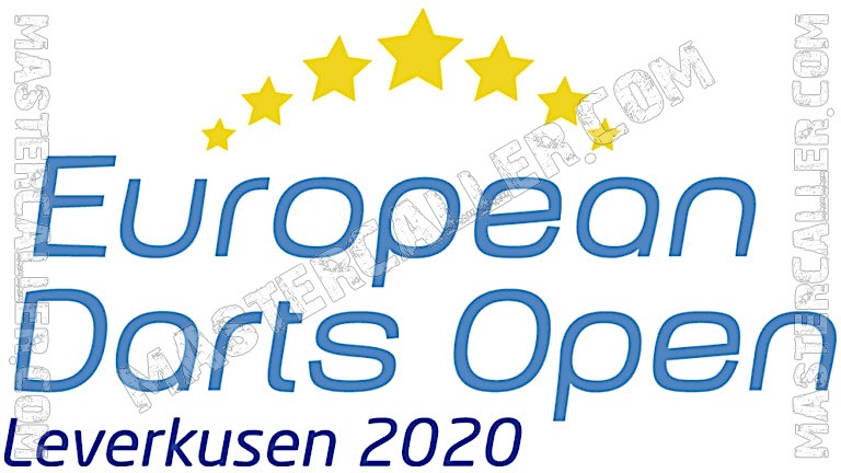 European Darts Open Qualifiers - 2020 N&B Logo