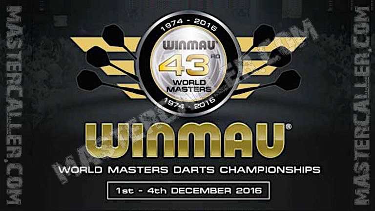 World Masters Men - 2016 Logo