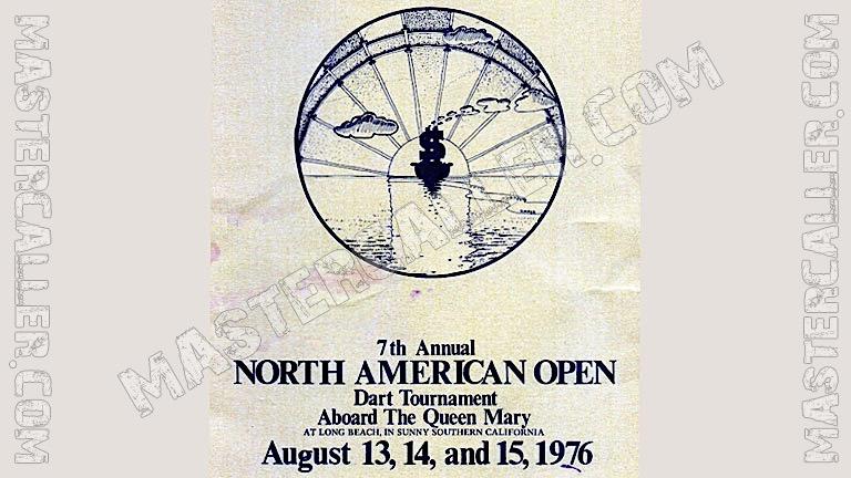 North American Open Ladies - 1976 Logo