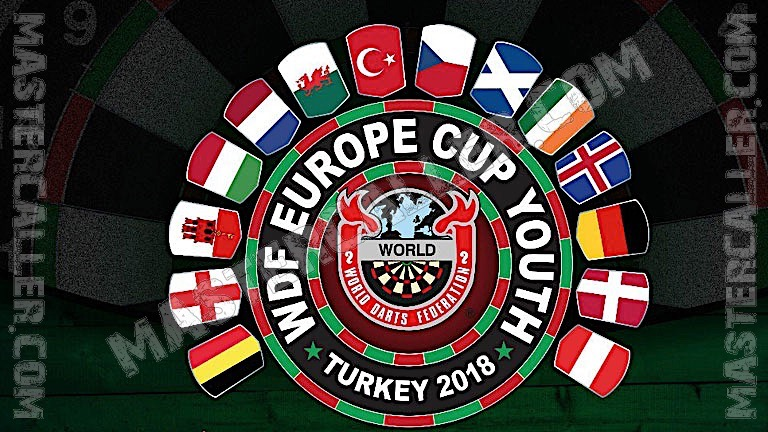 WDF Europe Cup Youth Girls Singles - 2018 Logo
