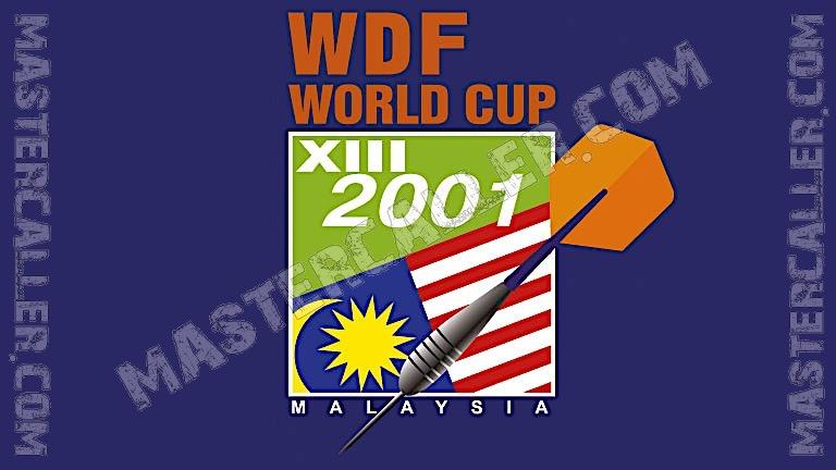 WDF World Cup Men Teams - 2001 Logo