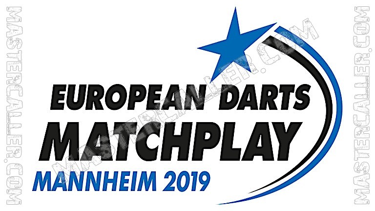 European Darts Matchplay - 2019 Logo