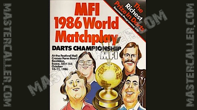 MFI World Matchplay - 1986 Logo