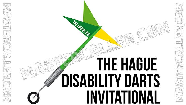 The Hague Disability Darts Invitational - 2018 Logo