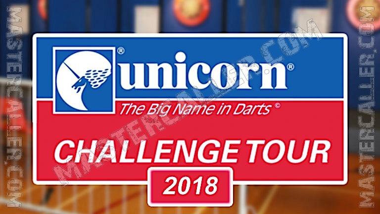 PDC Challenge Tour - 2018 CT 07 Milton Keynes Logo