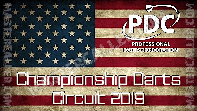 PDC North American Tour (CDC) - 2019 CDC 01 Philadelphia Logo