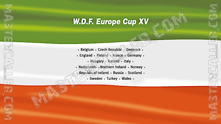 WDF Europe Cup Men Overall - 2006 Logo