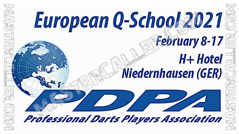 Q-School Ranking Tour Card - 2021-EU TourCard Logo