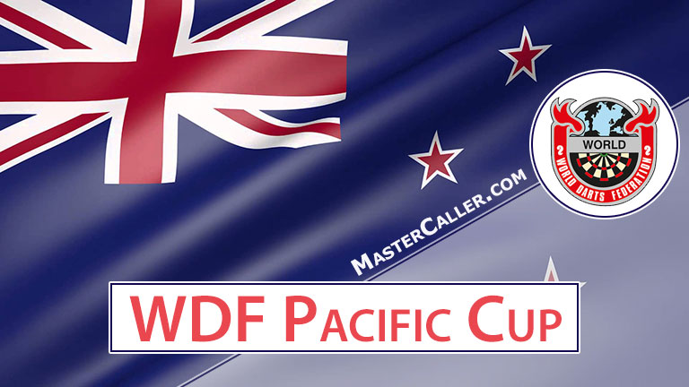 WDF Pacific Cup Mixed Pairs - 1986 Logo