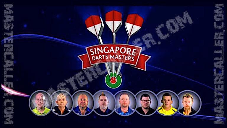 Singapore Darts Masters - 2014 Logo