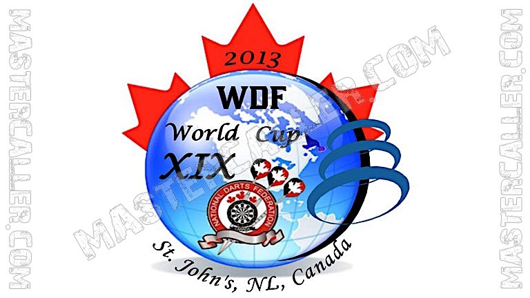 WDF World Cup Men Teams - 2013 Logo