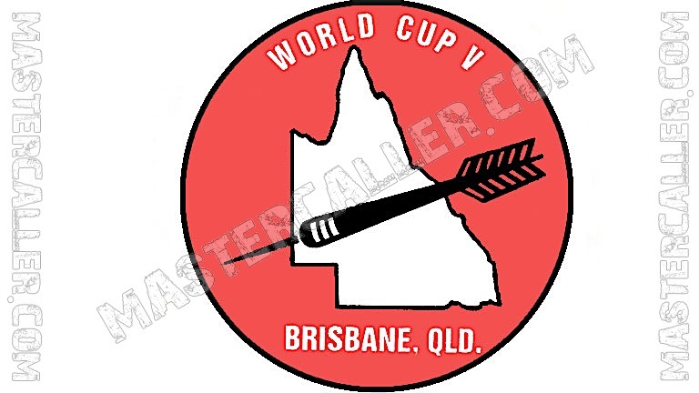 WDF World Cup Men Teams - 1985 Logo
