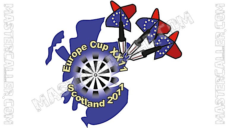 WDF Europe Cup Youth Boys Pairs - 2011 Logo