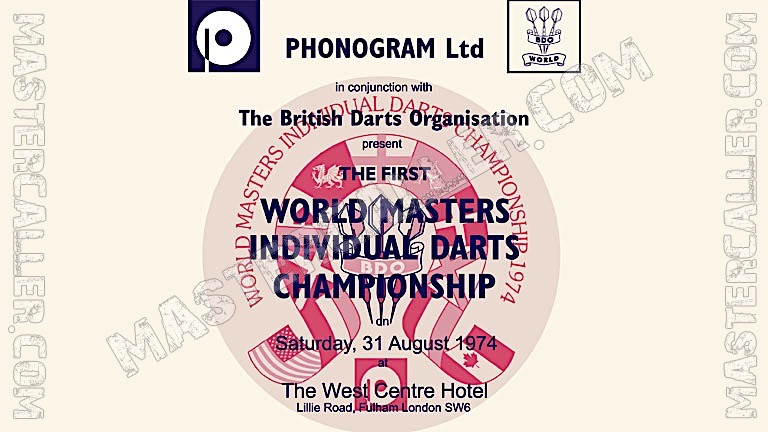 World Masters Men - 1974 Logo