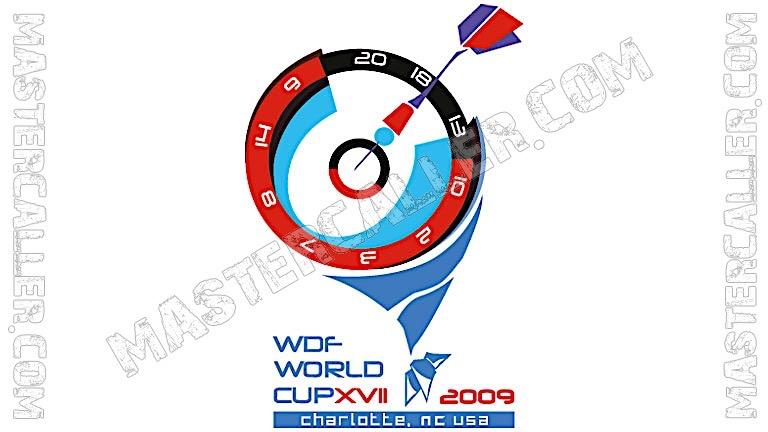 WDF World Cup Men Teams - 2009 Logo