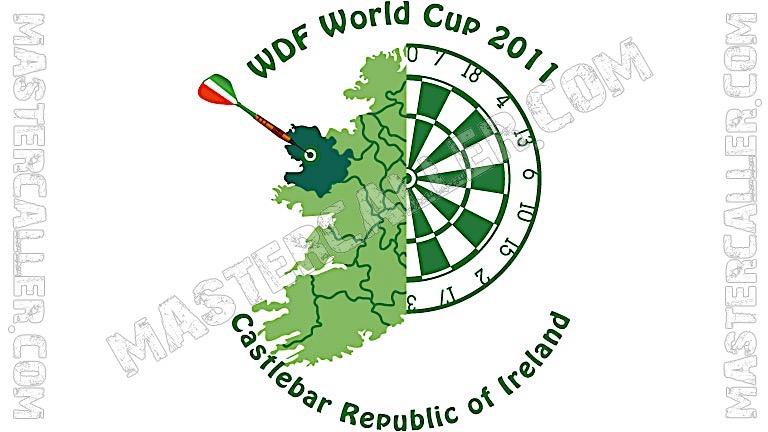 WDF World Cup Men Teams - 2011 Logo