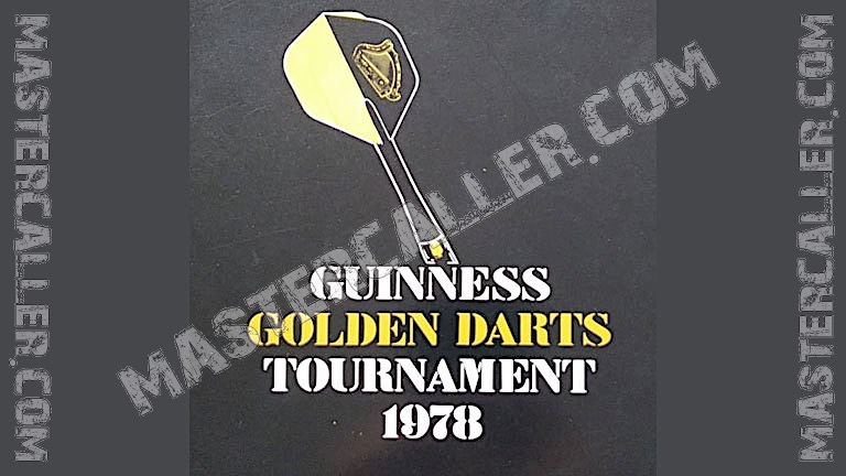Golden Darts Tournament Pairs - 1978 Logo