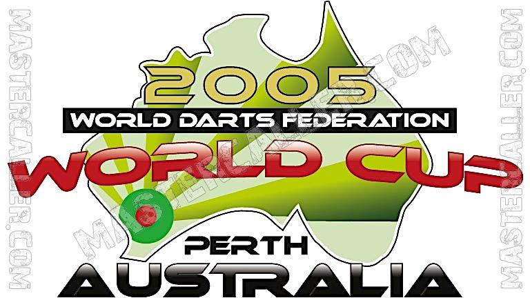 WDF World Cup Men Teams - 2005 Logo
