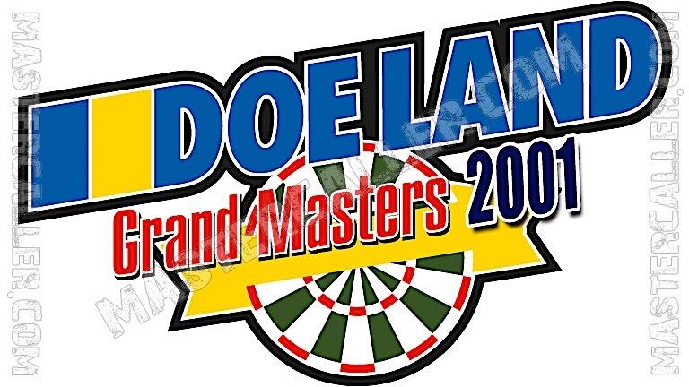 Finder Darts Masters Men - 2001 Logo