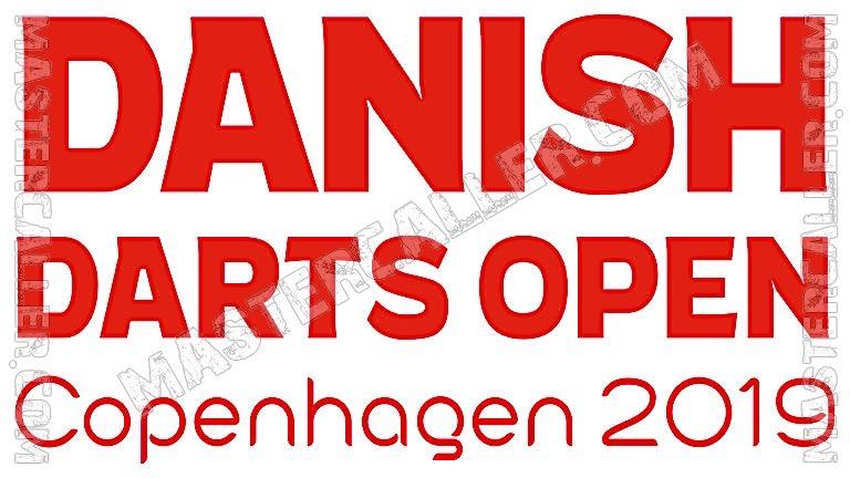 Danish Darts Open Qualifiers - 2019 N&B Logo