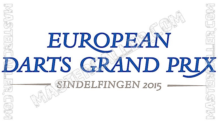 European Darts Grand Prix - 2015 Logo