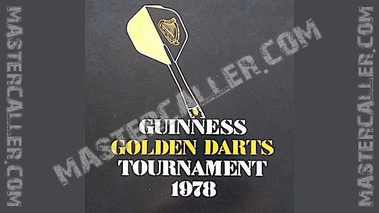 Golden Darts Tournament Singles - 1978 Logo