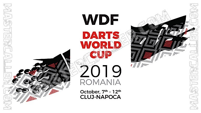 WDF World Cup Men Teams - 2019 Logo