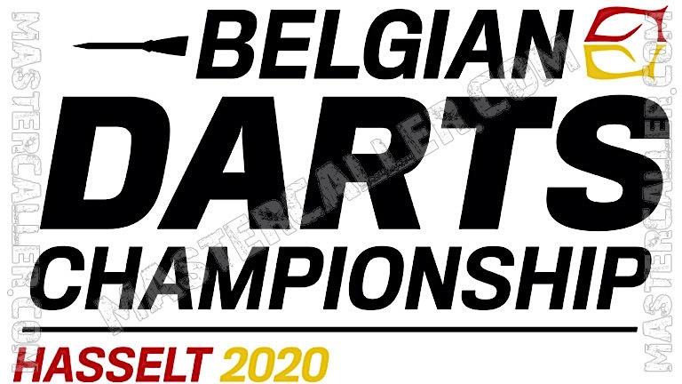 Belgian Darts Championship - 2020 Logo