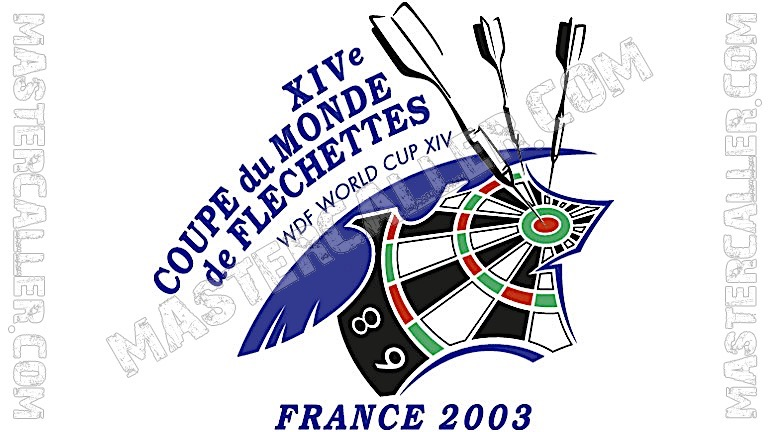 WDF World Cup Men Teams - 2003 Logo