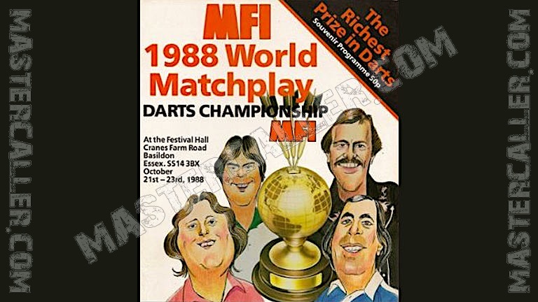 MFI World Matchplay - 1988 Logo