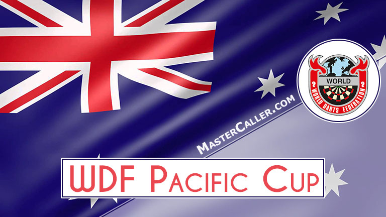 WDF Pacific Cup Mixed Pairs - 1992 Logo